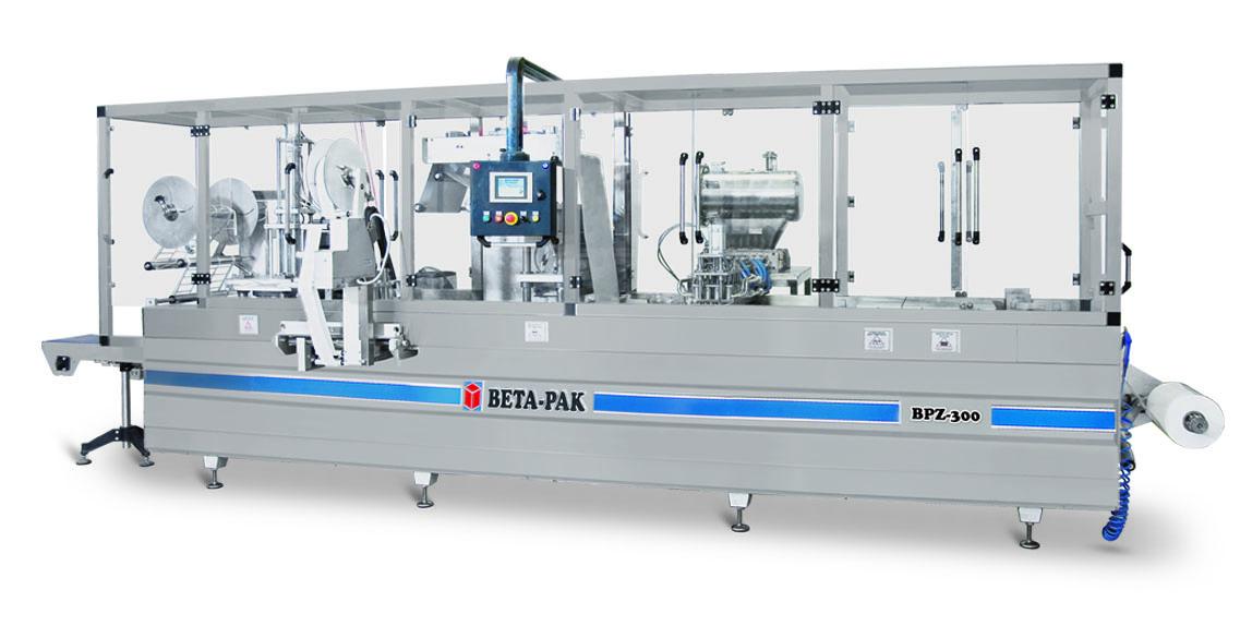 BPZ 300 Tam Otomatik Zincirli Termoform Ambalaj Makinası