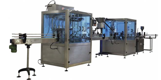 8 Nozullu Servolu Otomatik Sıvı Dolum Makinesi