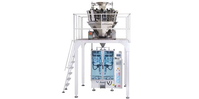 ODM 300 SM+TW-C14 Servo Motor Kontrollü Tam Otomatik Dikey Ambalaj Makinesi