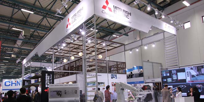 Mitsubishi Electric Türkiye CNC Ekibi,  Win Eurasia Fuarı'nda