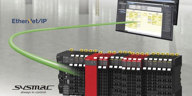 NX Serisi Giriş/Çıkış Sistemi Artık EtherNet/IP'ye de Bağlanıyor