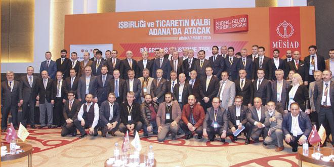 MÜSİAD Üçüncü Bölgesel İş Geliştirme Toplantısını Adana'da Gerçekleştirdi