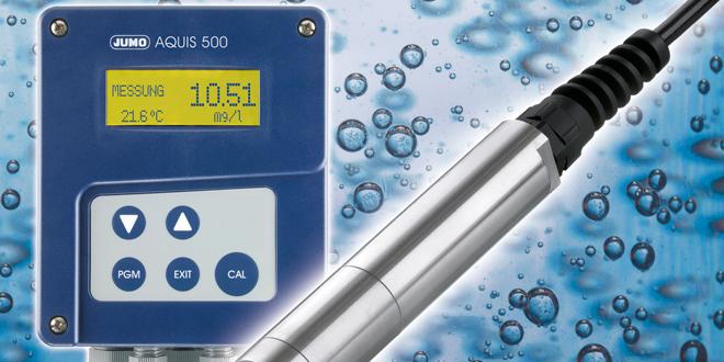 JUMO ecoLine O-DO Optik Sensör