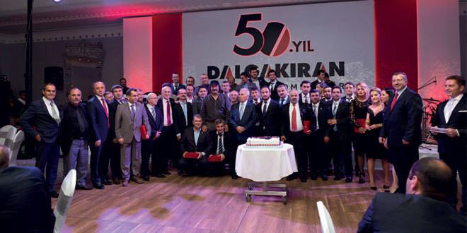 DALGAKIRAN Ailesi 50. yılını kutladı