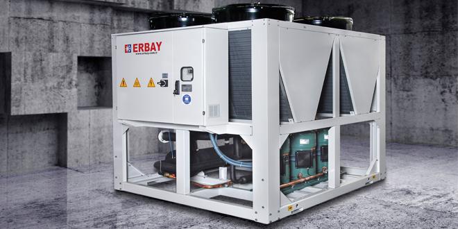 ERBAY'dan İklimlendirme Sektörüne Yüksek Verimli Multi-Scroll Kompresörlü Soğuk Su Üretici Gruplar