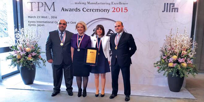 İspak Ambalaj Tpm Mükemmellikte Kararlılık Ödülü'nü Kazandı