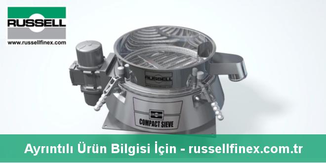Russell Finex'ten Endüstriyel Kontrol Eleği
