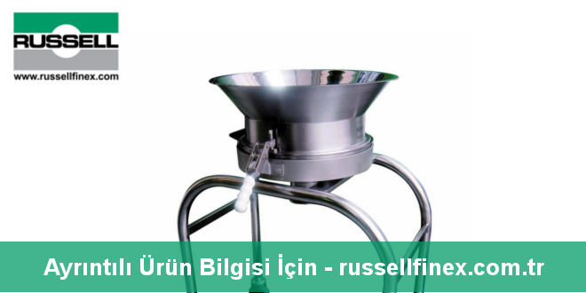 Russell Finex'ten Vibro Elek Makinesi