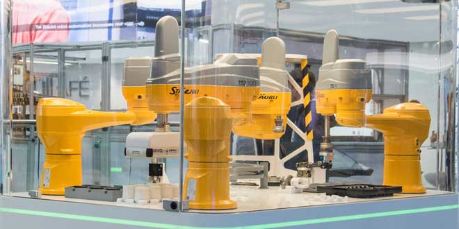 STÄUBLI TS2 Dört Eksenli SCARA Robotlar ile Tanışmaya Hazır Mısınız?